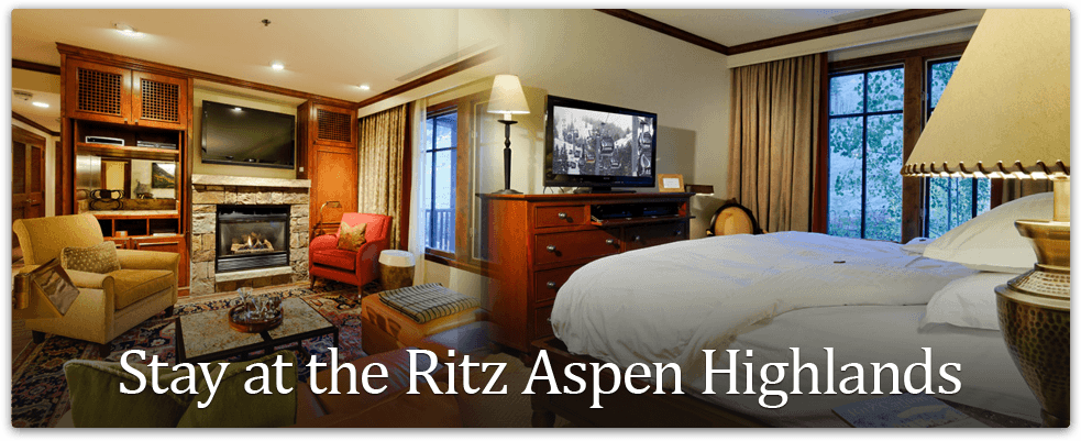 Stay at the Ritz Aspen Highlands